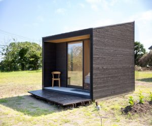 Cabañas de madera prefabricadas para camping